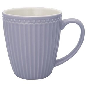 GreenGate Mok / Mug Alice Lavender H: 9,5 cm
