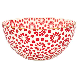 GreenGate-Bowl-Kelly-Red-with-gold