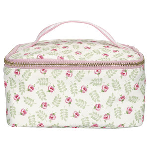 GreenGate Cooler Lunchbag Lily Petit White