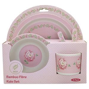GreenGate-Kids-Dinnerset-Lily-Petit-White