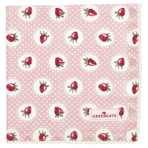 GreenGate-Cotton-Napkin-with-Lace-Strawberry-Pale-Pink