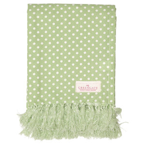 GreenGate Tablecloth Spot Pale Green