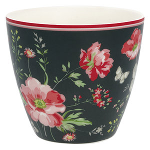 GreenGate-Meadow-Black-Latte-Cup