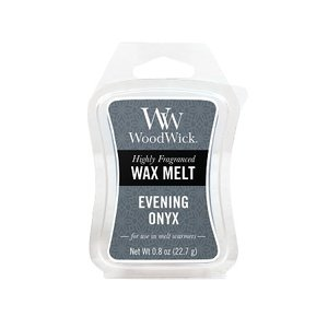 WoodWick Evening Onyx Mini Wax Melt
