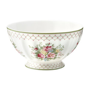 GreenGate Cereal Schaaltje / French bowl xlarge Aurelia White D:13,5cm