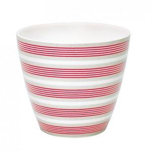 GreenGate Mokje / Latte Cup Zoe Linen H:9cm