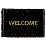 Gate-Noir-By-GreenGate-Doormat-Welcome-Black-Gold